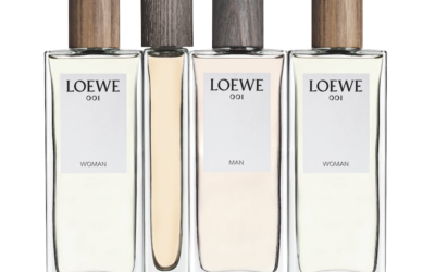 PUJOLASOS gives a touch of sensuality to the new perfumes Loewe 001