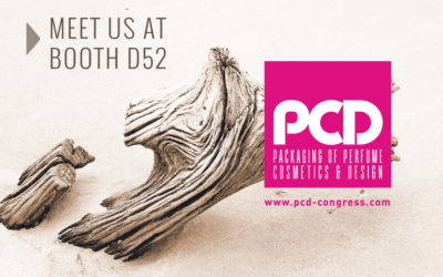 PUJOLASOS will present at PCD Paris the exclusives innovations in organic packaging for perfumery and cosmetic