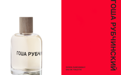 Pujolasos is inspired by the old Russia in the design of 'Gosha Rubchinskiy' perfume of Comme des Garçons