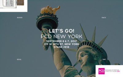 Pujolasos will present the latest innovations at ADF & PCD New York