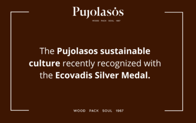 Ecovadis Silver medal in recognition of the Pujolasos sustainable policies