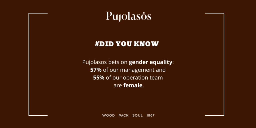 Pujolasos bets on gender equality