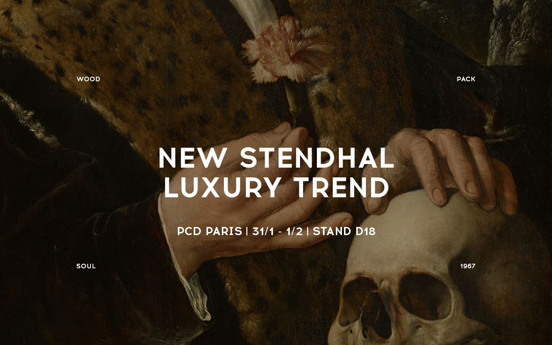 New Stendhal Luxury Trend, the art arrives to perfumery packaging by the hand of Pujolasos