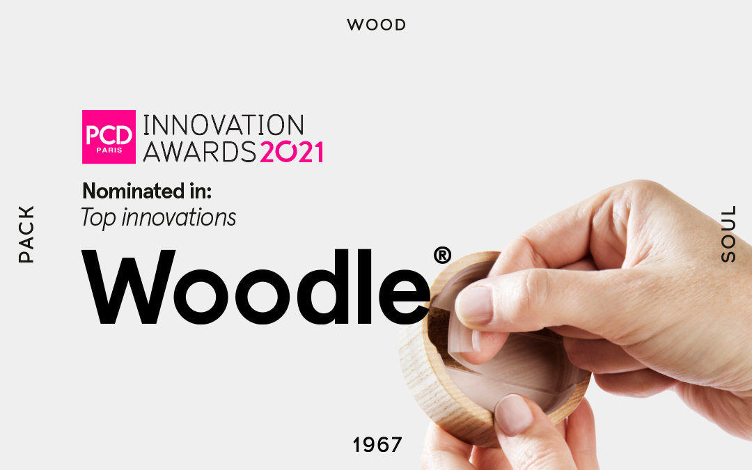 "Woodle®, nominated within ""Top Innovation"" PCD París"